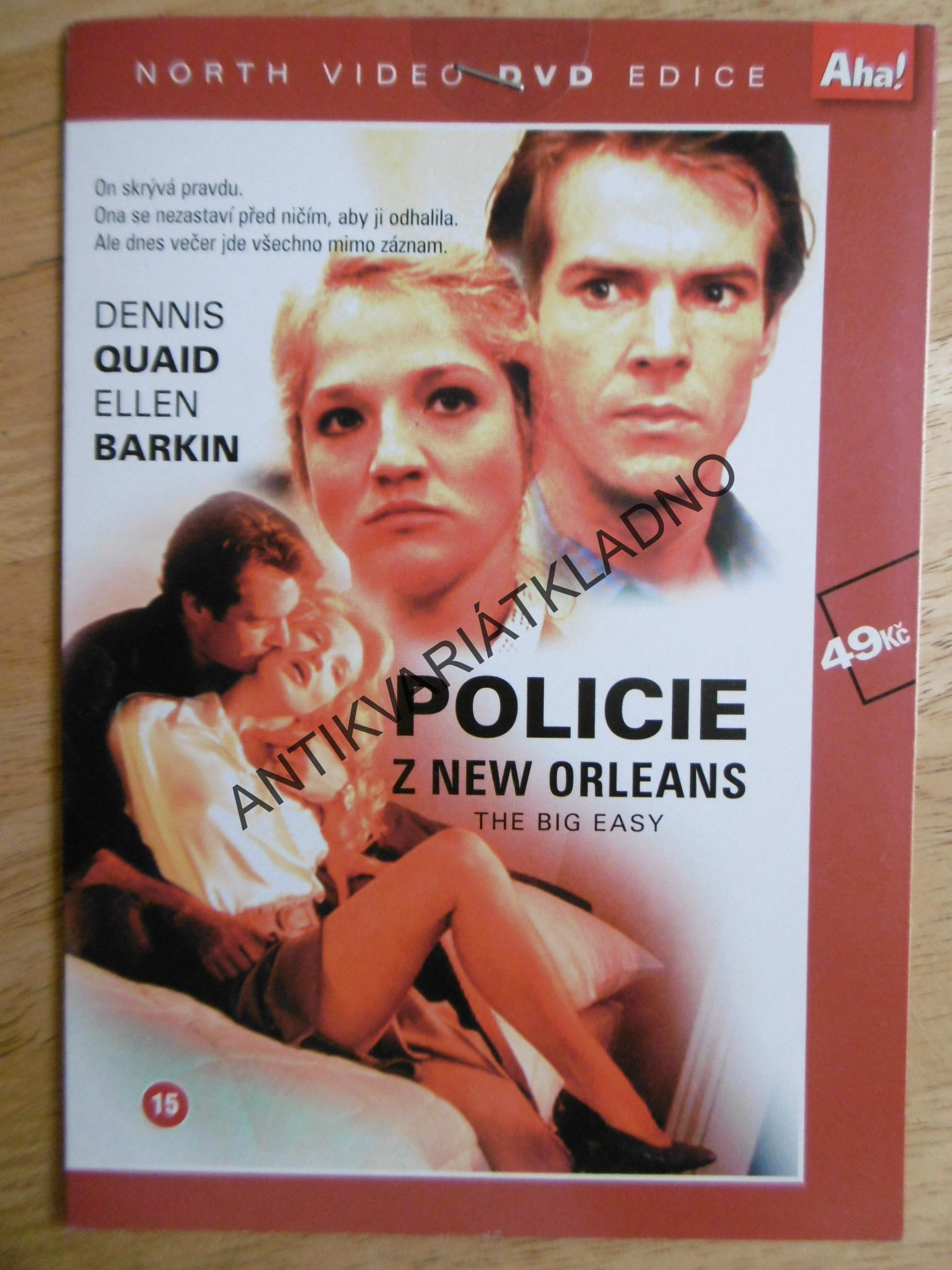 POLICIE NEW ORLEANS, DVD FILM