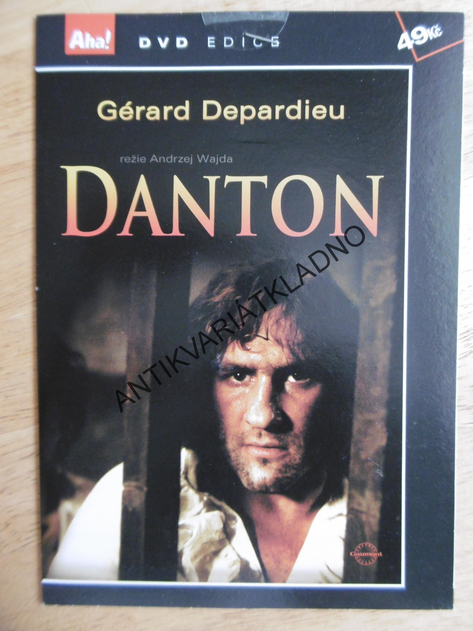 DANTON, DVD FILM