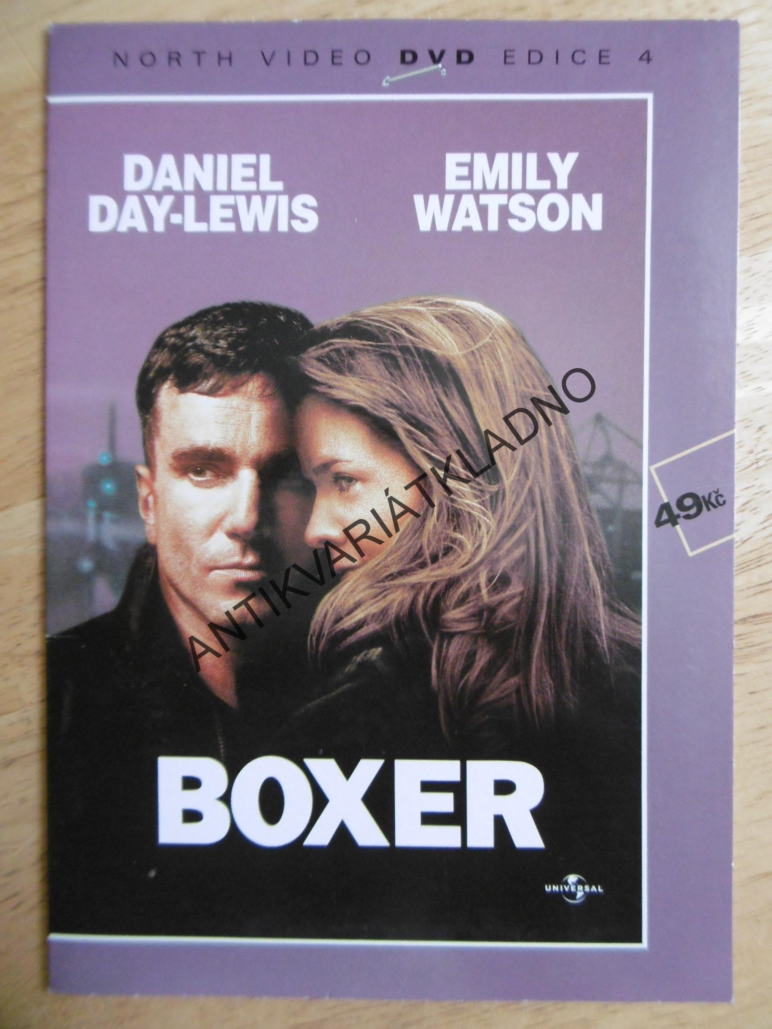 BOXER, DVD FILM