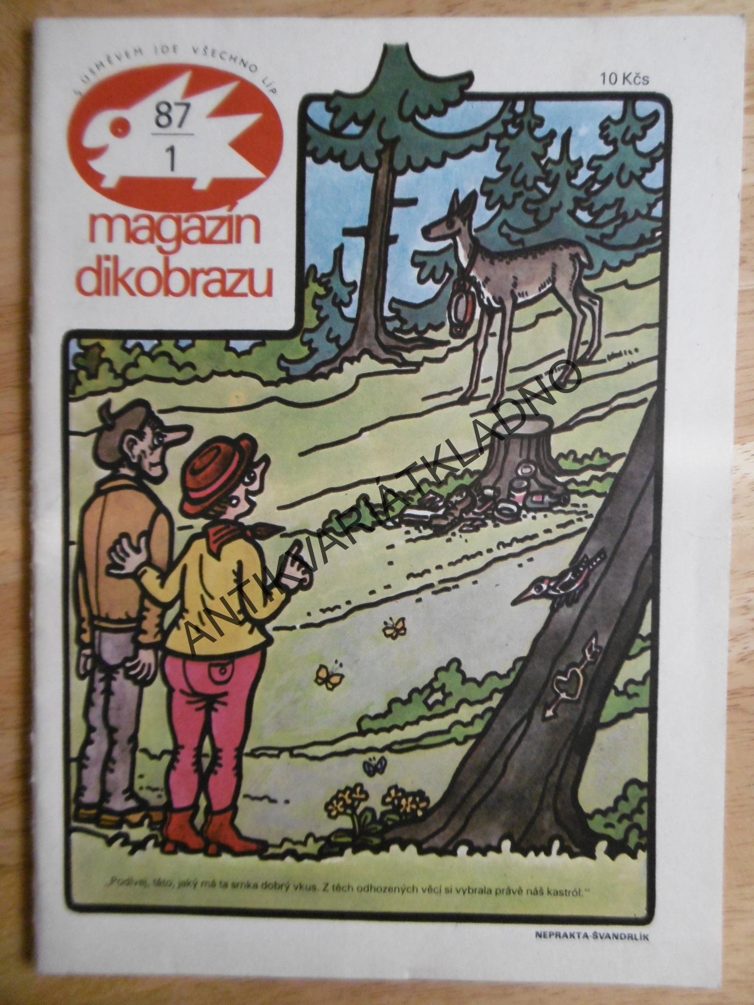 Magazin Dikobrazu 1 87 Antikvariat Kladno Mares