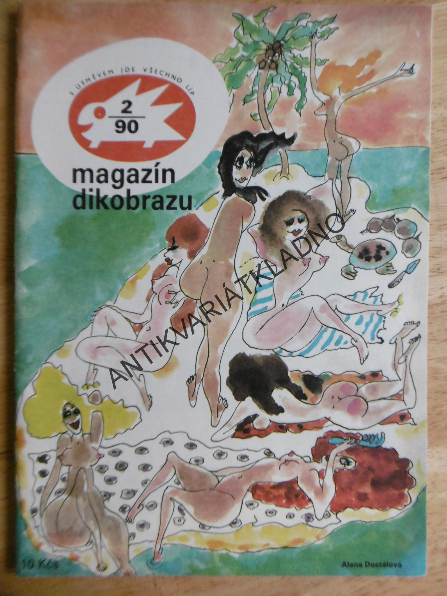 Humor Vtipy Kreslene Magazin Dikobrazu 2 90 Antikvariat