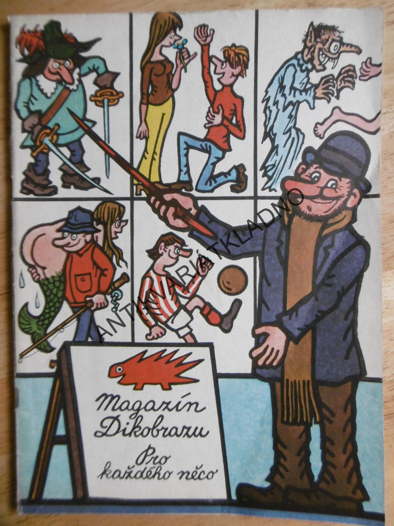 Magazin Dikobrazu 1975 Antikvariat Kladno Mares
