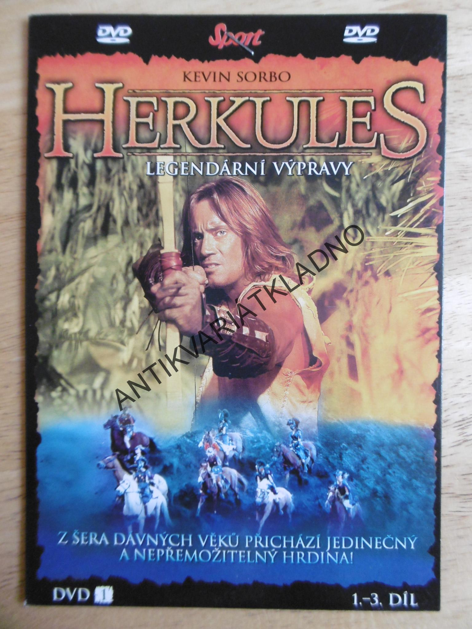 HERKULES, DVD FILM
