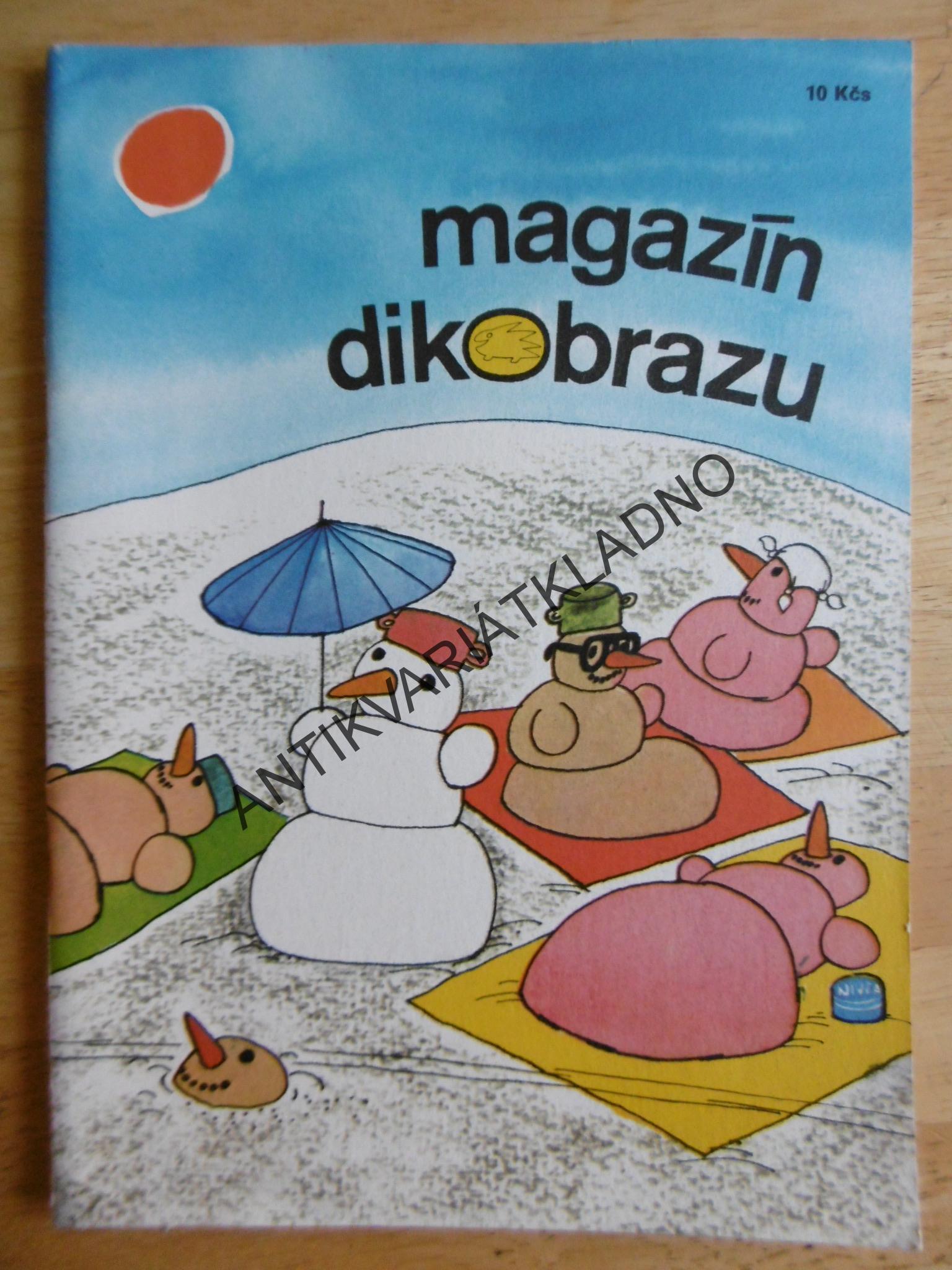 Humor Vtipy Kreslene Magazin Dikobrazu 198 Antikvariat Kladno