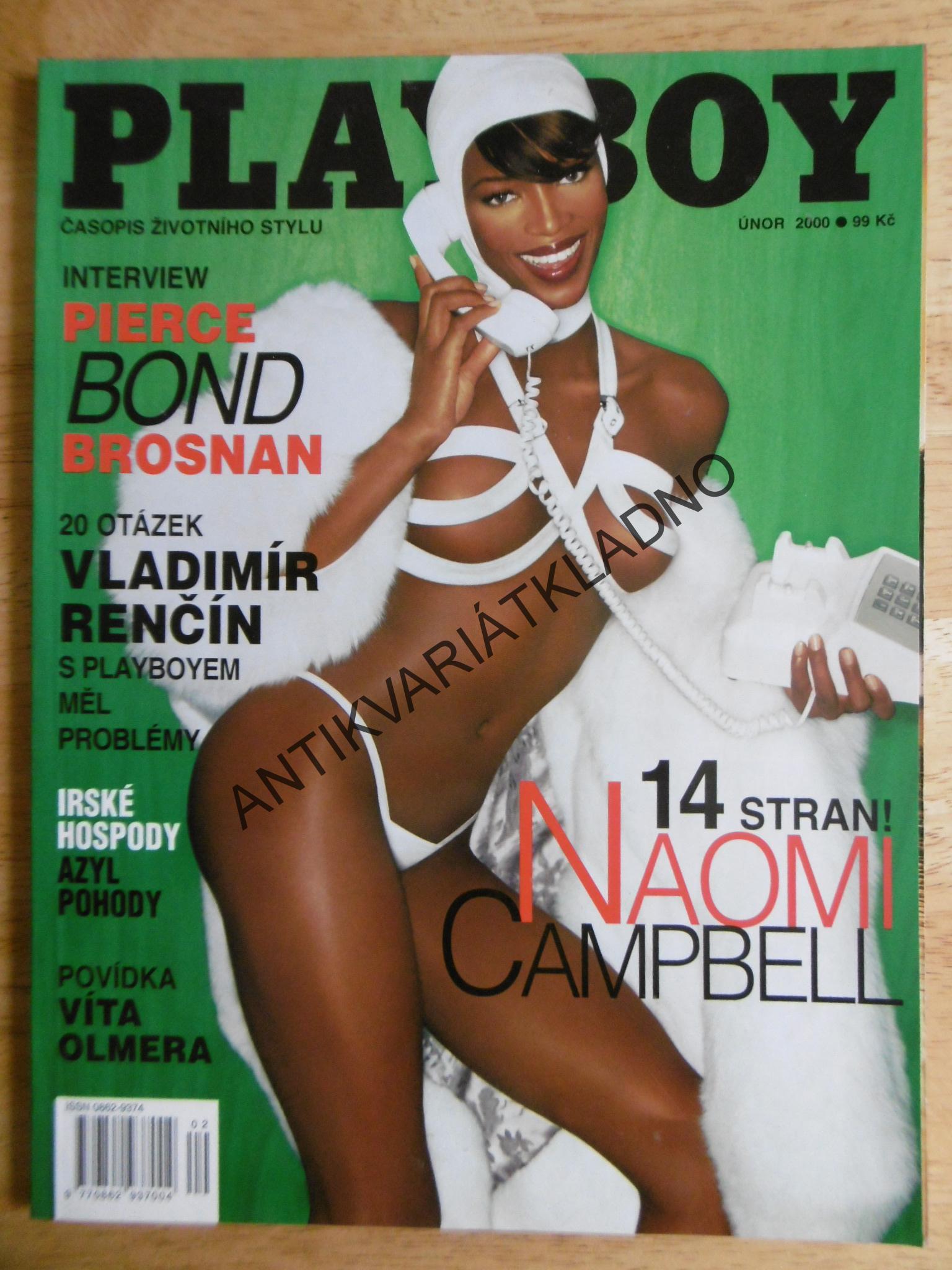 Naomi campbell playboy