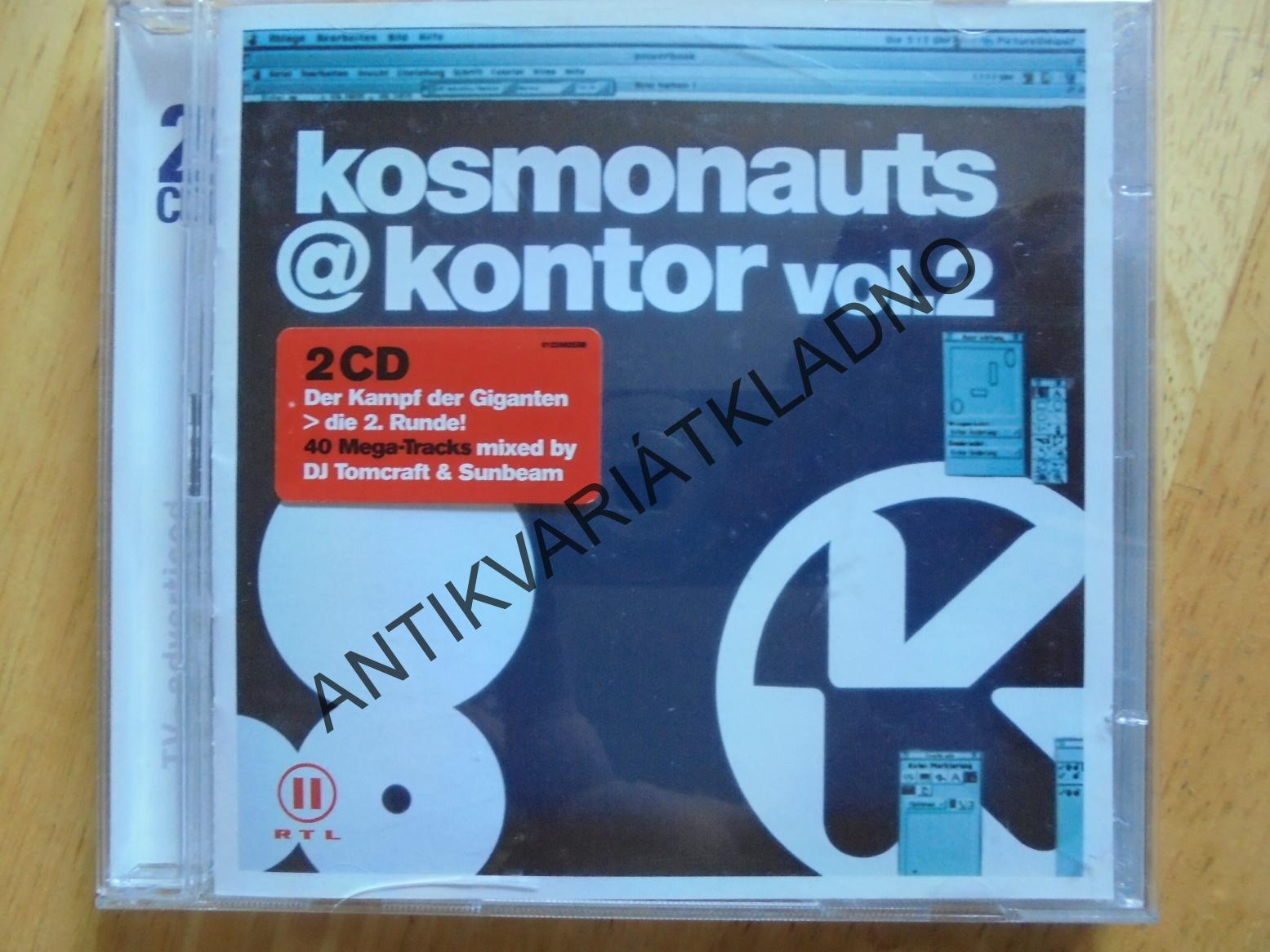 KOSMONAUTS@ KONTOR VOL.2., 2 CD