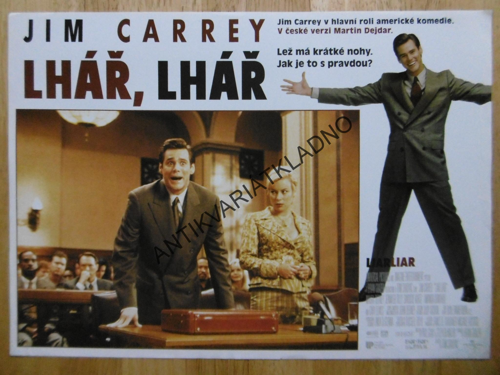 LHÁŘ, LHÁŘ, JIM CARREY, FOTOSKA FILM USA