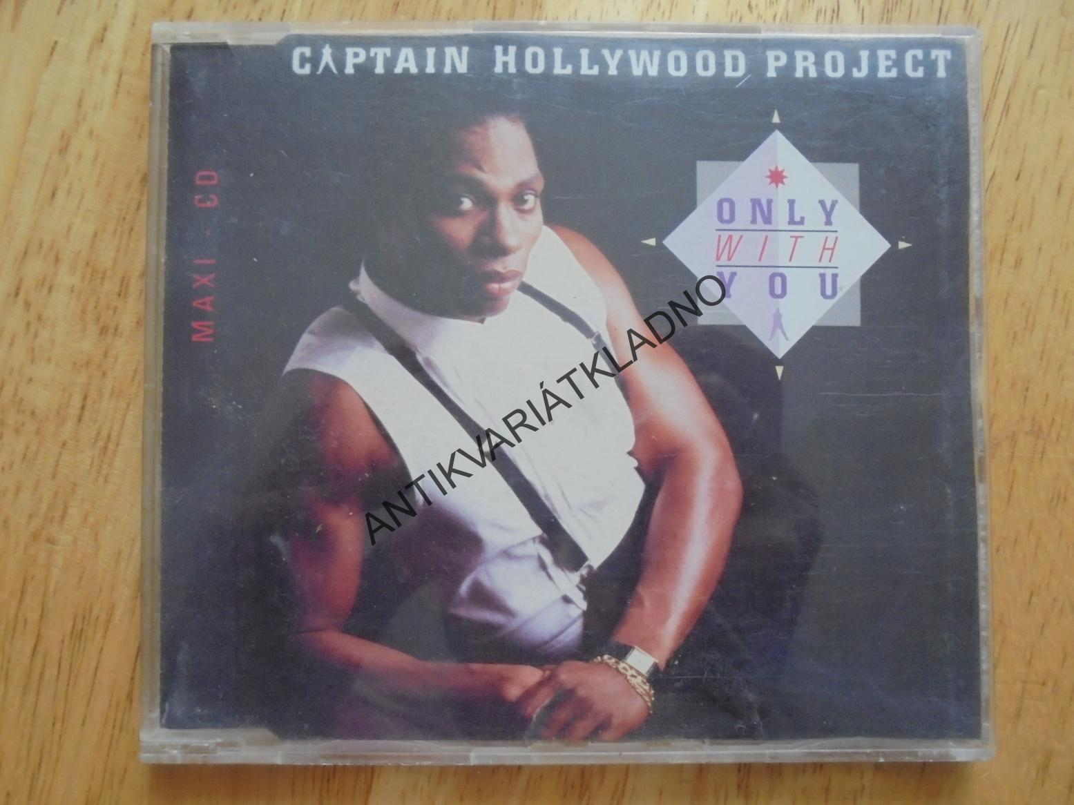 CAPTAIN HOLLYWOOD PROJECT, ONLY WITH YOU, CD