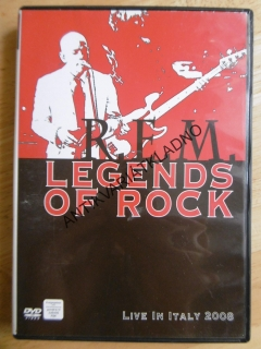 R.E.M, LEGENDS OF ROCK, DVD FILM