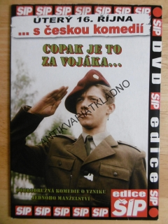 COPAK JE TO ZA VOJÁKA, DVD FILM