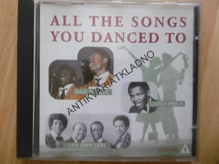 ALL THE SONGS YOU DANCED TO, CD
