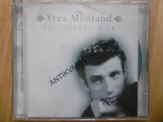 YVES MONTAND, LES LEGENDES D´OR, CD