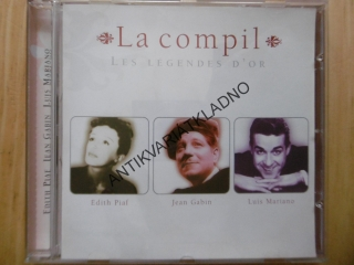 LA COMPIL, LES LEGENDES D´OR, CD