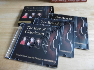 THE BEST OF CLASSICISM, MOZART, BEETHOVEN, HAYDEN,3 CD