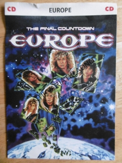EUROPE, THE FINAL COUNTDOWN, DVD FILM HUDBA