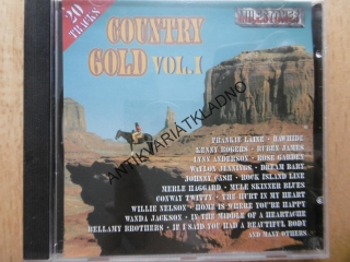 COUNTRY GOLD VOL. 1., MILESTONES, CD HUDBA