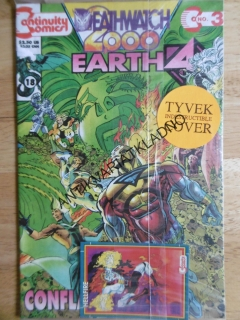 DEATHWATCH 2000 EARTH 4, KOMIKS ANGLICKY