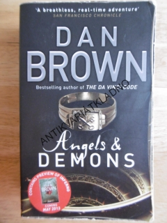ANGELS END DEMONS, DAN BROWN, ANGLICKY