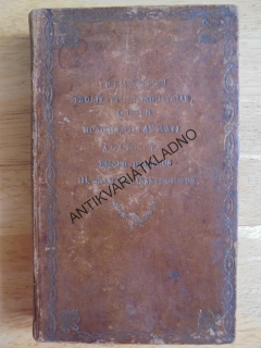 LATINSKY- FILOZOFIE, CATO MAJOR,LAELIUS.... 1825