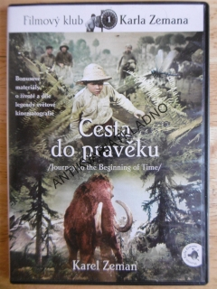 CESTA DO PRAVĚKU, DVD FILM