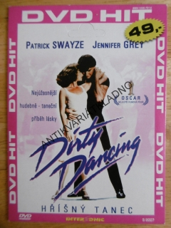 DIRTY DANCING, HŘÍŠNÝ TANEC, JENNIFER GREY, PATRICK SCHWAYZE, DVD FILM