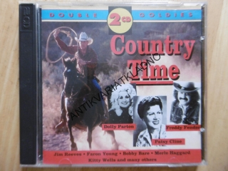 COUNTRY TIME, DOLY PARTON, FRREDDY FENDER, PATSY CLINE, 2 CD