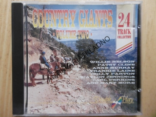 COUNTRY GIANTS, 2., CD HUDBA