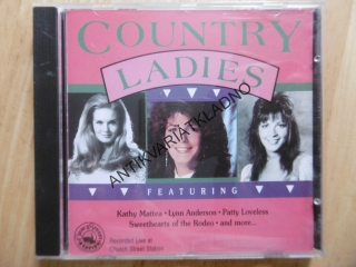 COUNTRY LADIES, PATTY LOVELESS, AJ., CD HUDBA