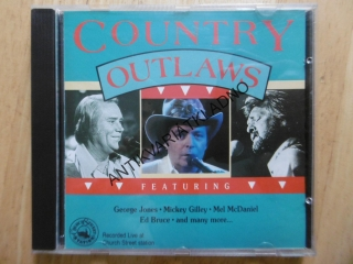 COUNTRY OUTLAWS, CD HUDBA