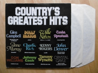 COUNTRY´S GREATEST HITS, GLEN CAMPBELL, NELSON, MURRAY, CASH, DENVER, RICH, AJ.