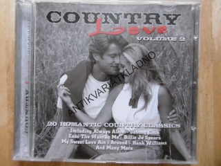 COUNTRY LOVE 2., CD