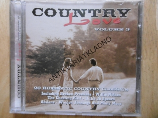 COUNTRY LOVE 3., CD