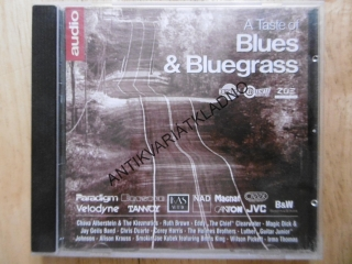 A TASTE OF BLUES AND BLUEGRASS, CD HUDBA