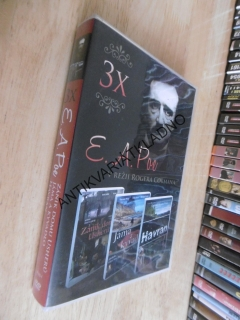 3 X EDGAR ALAN POE, DVD FILM HOROR