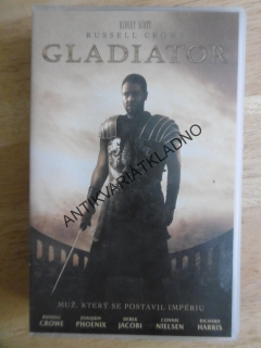 GLADIÁTOR, RUSSELL CROWE, VHS