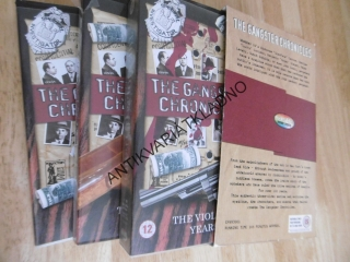 THE GANGSTER CHRONICLES, ANGLICKY !!! 3 X VHS