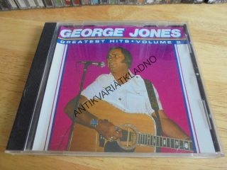 CD- GEORGE JONES, GREATEST HITS, VOLUME 2,