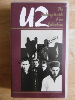 U2, THE UNFORGETTABLE FIRE COLLECTION, VHS