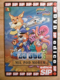 20000 MIL POD MOŘEM, WILLY FOG, DVD FILM