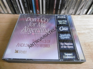 DON´T CRY FOR ME ARGENTINA, 3X CD hudba
