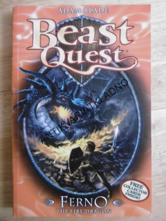 BEAST QUEST, ADAM BLADE, FERNO THE FIRE DRAGON,, ANGLICKY
