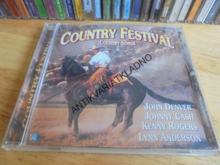 CD - COUNTRY FESTIVAL, COUNTRY SONGS, DENVER,CASH