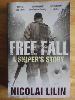 FREE FALL A SNIPER´S STORY, N.LILIN,ANGLICKY,VÁLKA