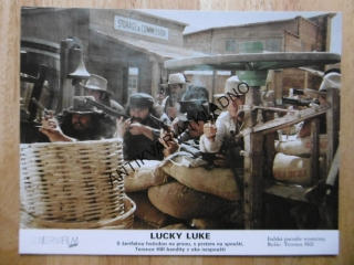 LUCKY LUKE, TERENCE HILL, FOTOSKA FILM IT