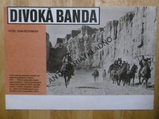 DIVOKÁ BANDA, PECKINPAH, FOTOSKA FILM USA