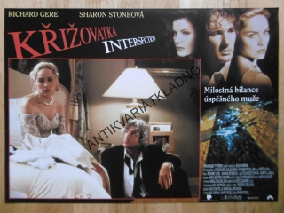 KŘIŽOVATKA, SHARON STONE, RICHARD GERE, FOTOSKA FILM USA