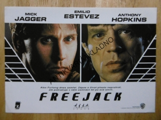FREEJACK, MICK JAGGER, ESTEVEZ, HOPKINS,FOTOSKA FILM USA