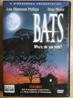 BATS, WHERE DO YOU HIDE? MEYER,L.D.PHILLIPS,ANGLICKY, DVD FILM