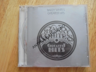 BARRY WHITE´S, GREATEST HITS, CD
