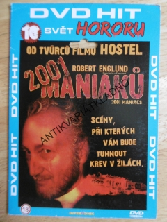 2001 MANIAKŮ, HOROR, DVD FILM